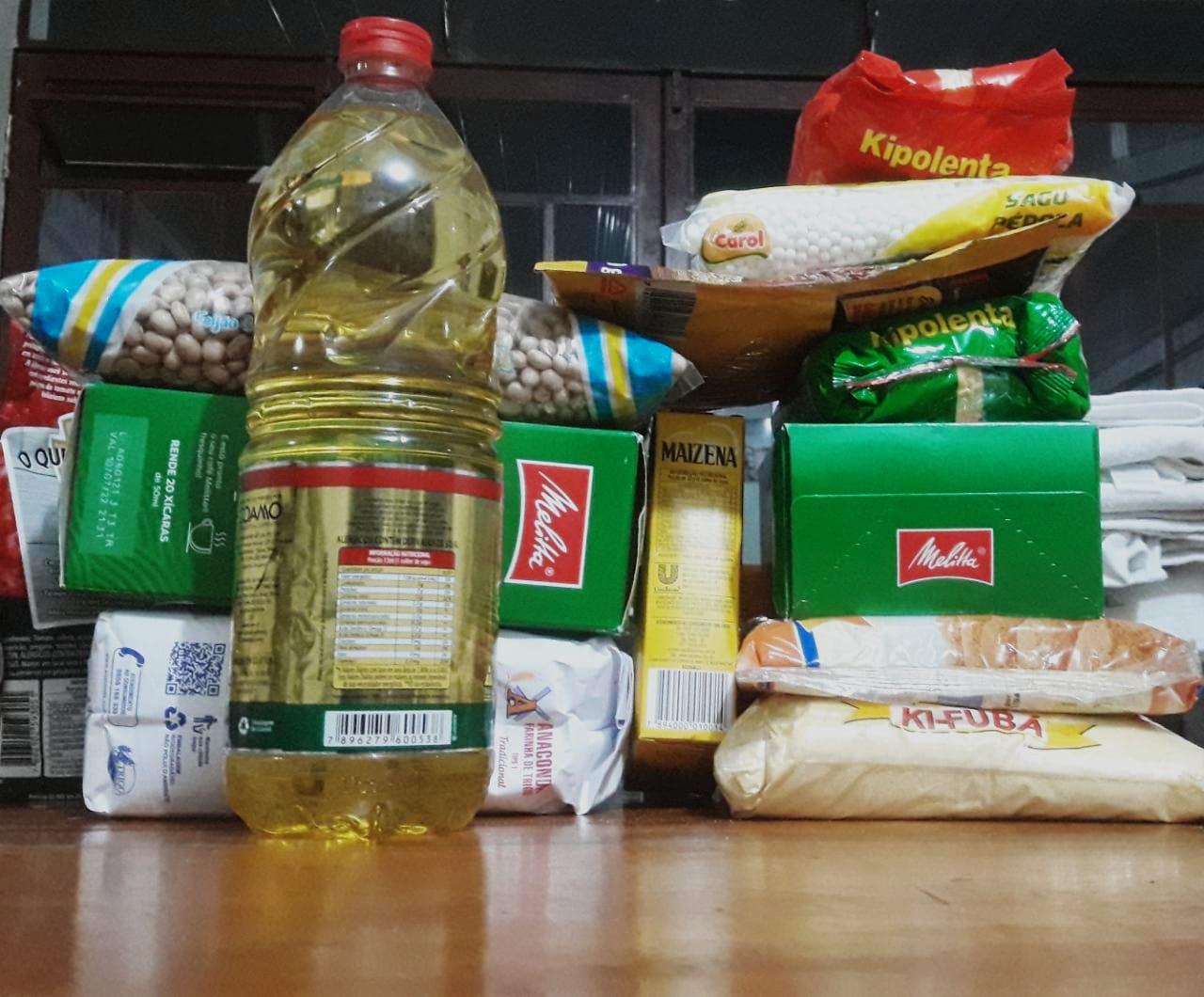 Prefeitura lança campanha para arrecadar alimentos durante imunização contra Covid