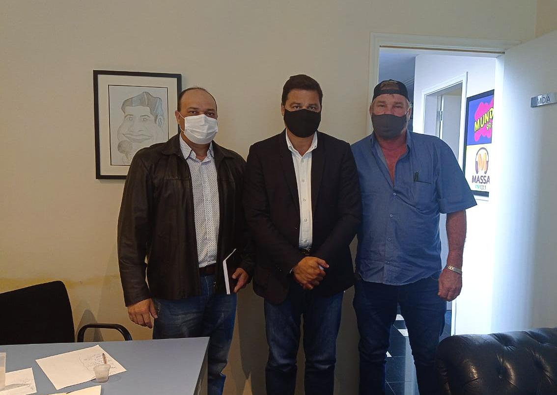 Butina se reúne com Sandro Alex e solicita melhorias na infraestrutura de Tibagi
