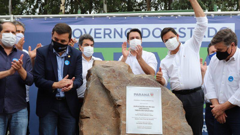 Começam as obras de modernização do Trevo Gauchão e duplicação da PR-323 em Umuarama