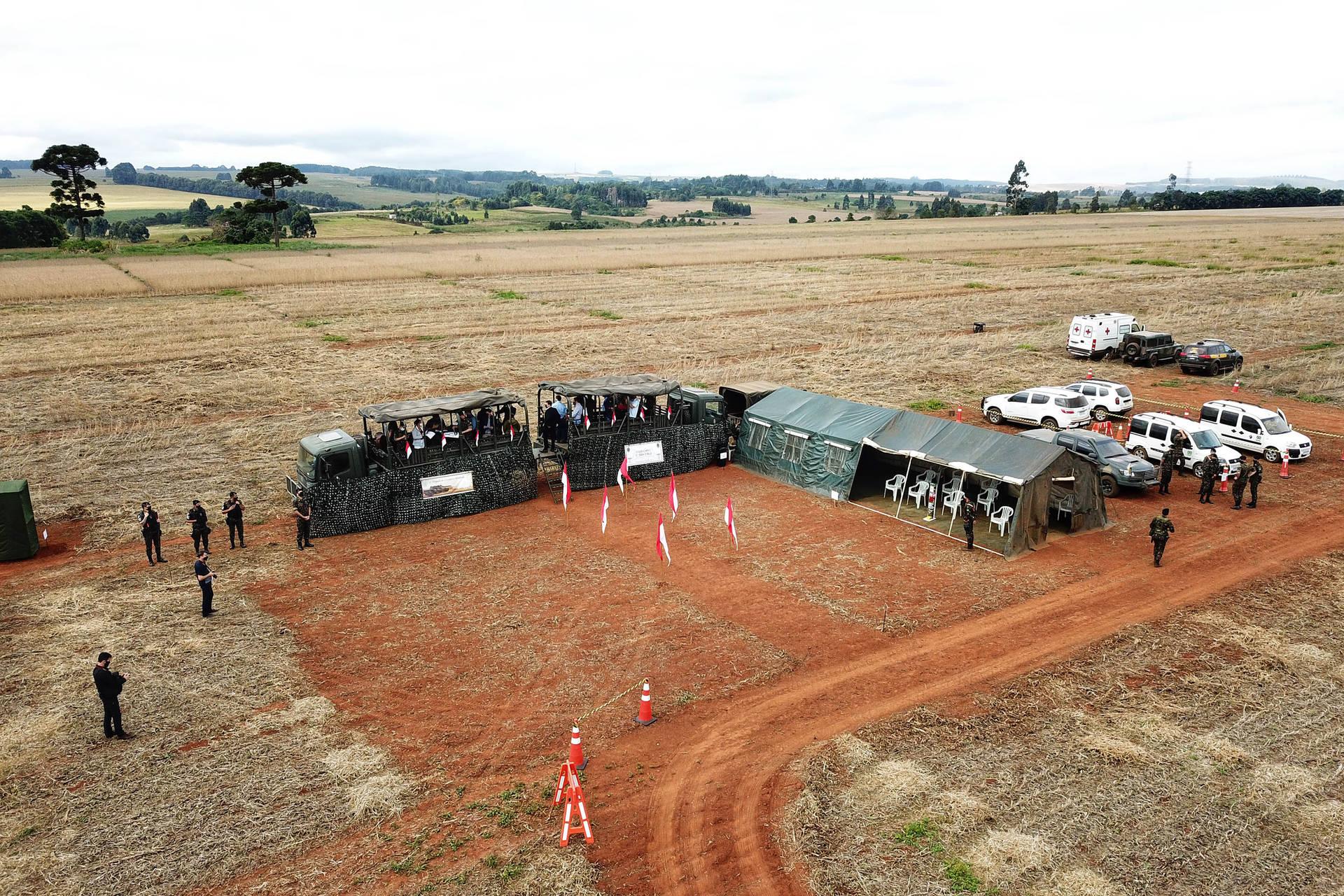 Exército vistoria área em Ponta Grossa que pode sediar Escola de Sargentos das Armas