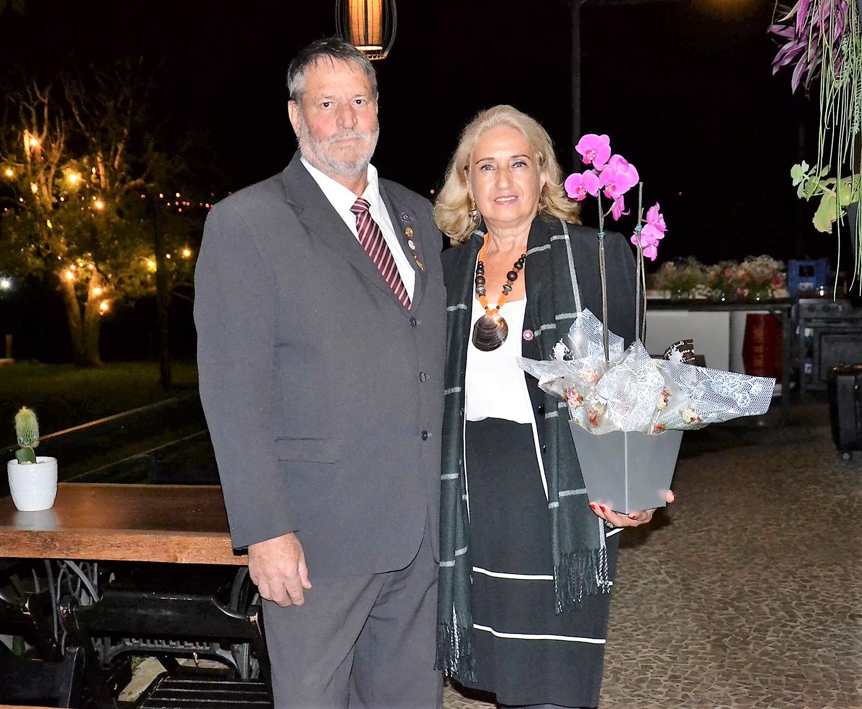 Clarisse Simões Bontorin e Valentin Bontorin