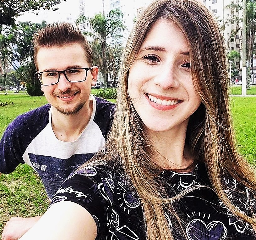 Shayeini Oliveira e Fernando Rogala