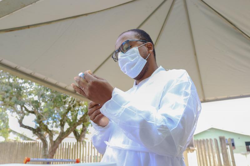 Começou a vacinação de pacientes com comorbidades em Tibagi