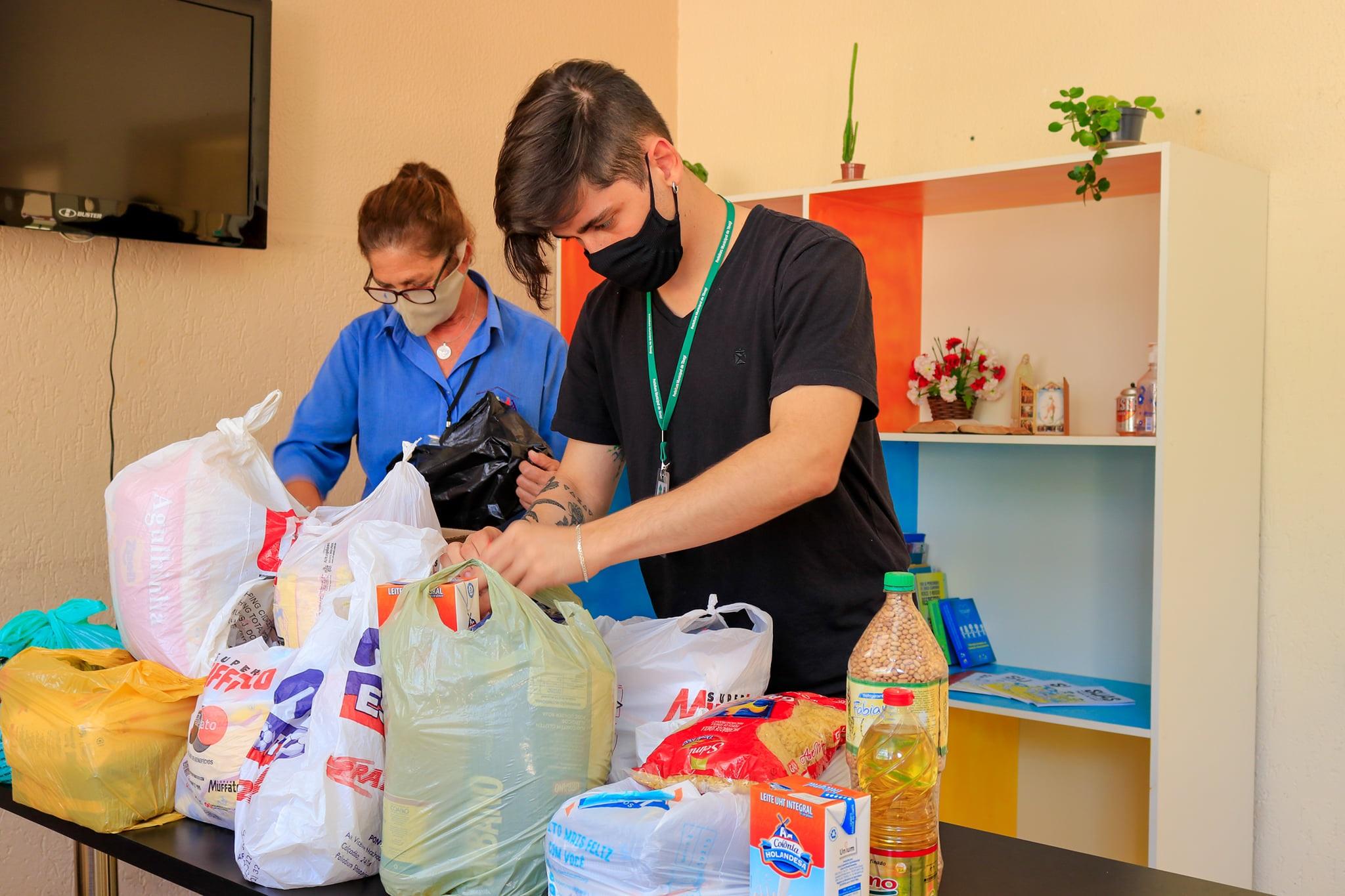 """Assistência Social de Tibagi recebe alimentos da campanha """"Vacina contra a Fome"""""""