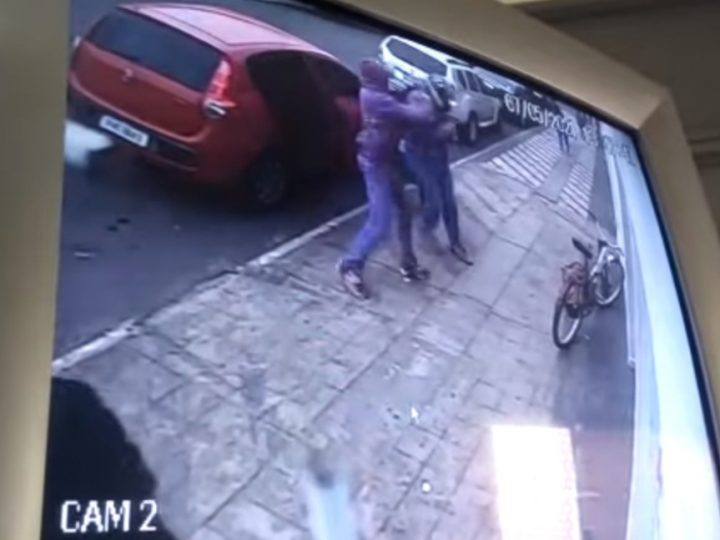 Ladrões roubam mochila de funcionário de lotérica e são presos após perseguição na PR-151
