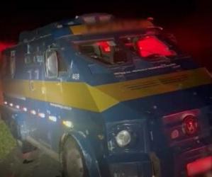 Carro-forte é alvo de tentativa de assalto na região