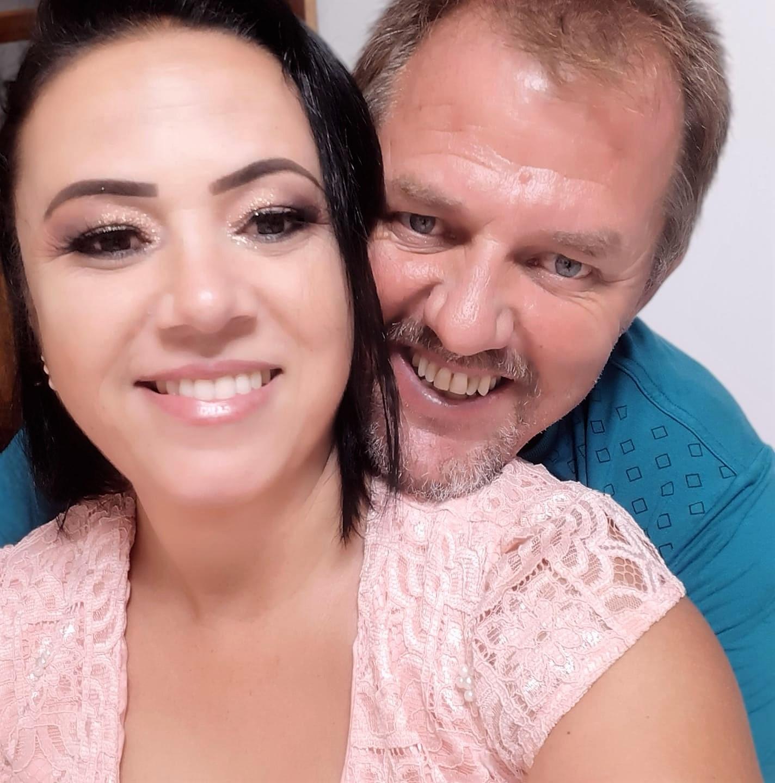 José Luiz Denck e Clicea Valente Denck