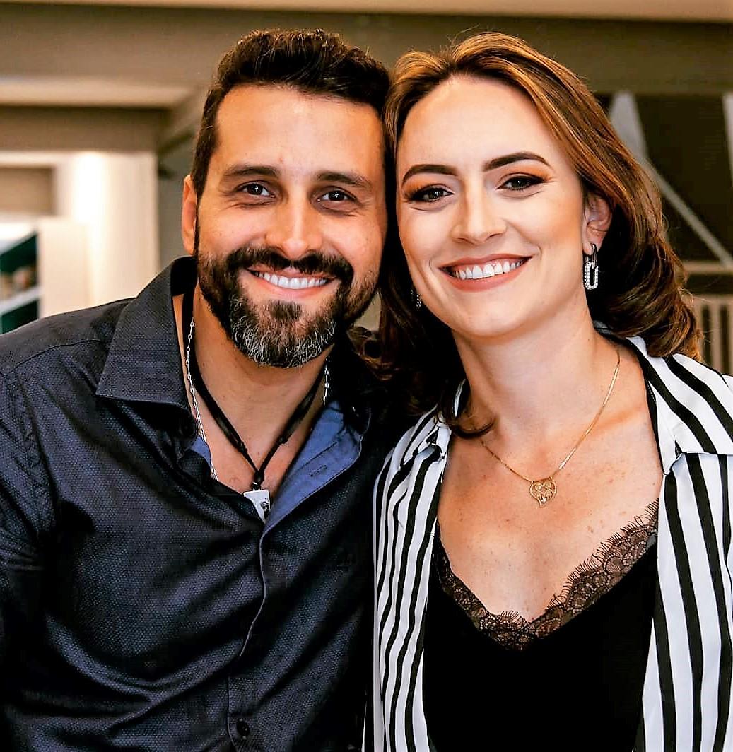 Daniel Lisbôa e Izabel Amorim Lisbôa