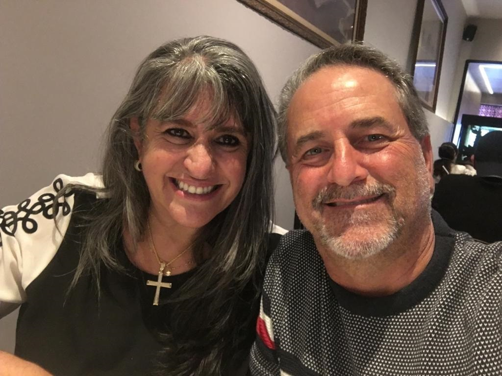 Valéria e Carlos Roberto Justus Madureira