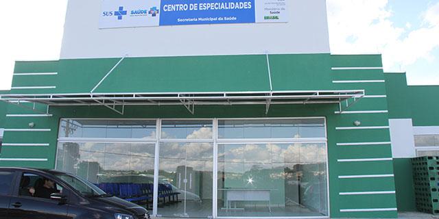 Alteração no local de estacionamento do Centro de Especialidades Médicas