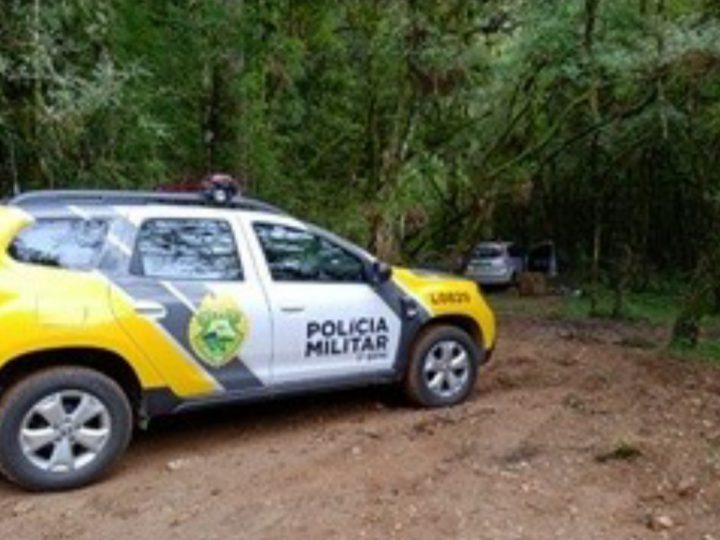 Veículo roubado por trio é encontrado em Castro