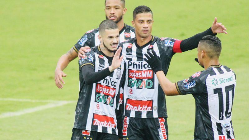 Operário goleia o lanterna por 9 a 0 no Paranaense