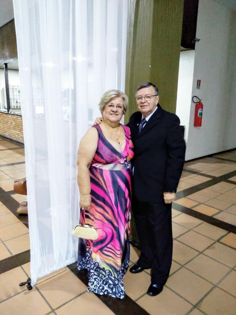 Jurandir Sidney Ribeiro e Miriam Terezinha