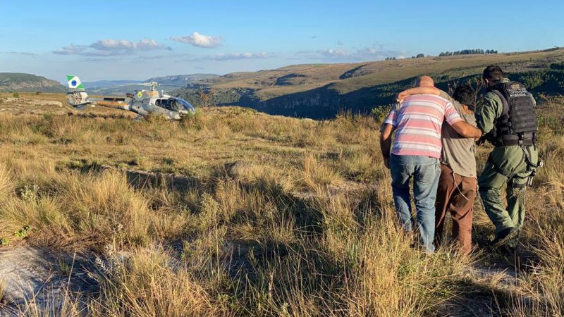 BPMOA resgata duas pessoas de trilhas turísticas