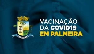 Palmeira já aplicou 8,9 mil doses de vacina contra a Covid-19