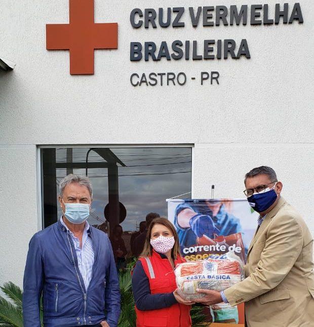 Ponta Grossa e Castro recebem quase 28,5 toneladas de alimentos da Corrente de Esperança Condor