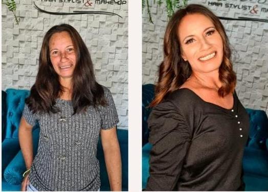 Projeto 'transformação' proporcionou dia das mães especial para Rosaninha