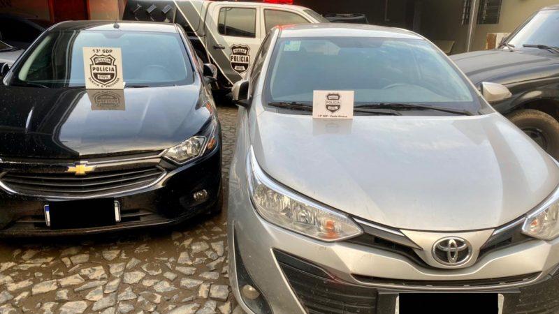 Suspeito de envolvimento em clonagens de veículos é preso