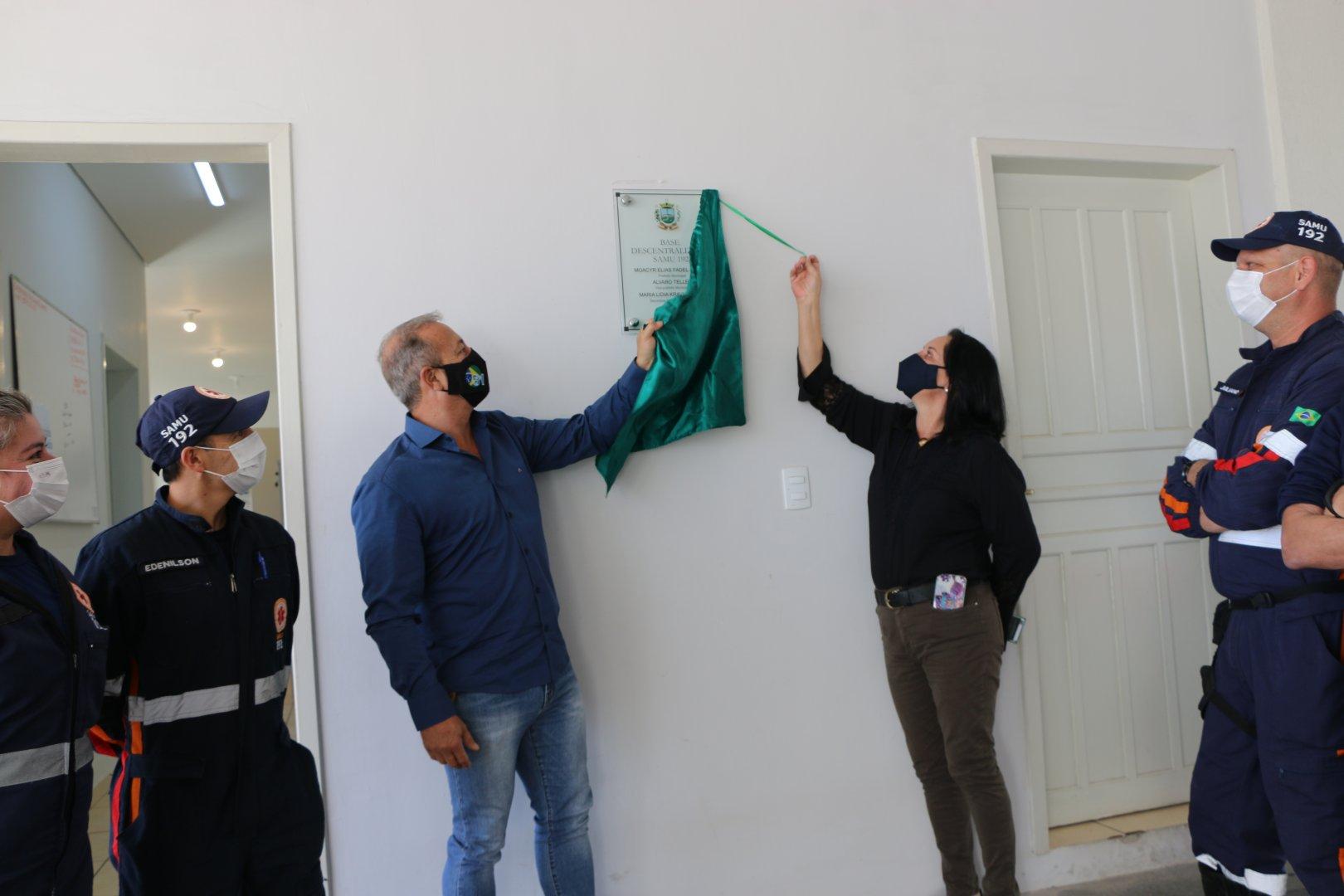 Prefeitura de Castro entrega nova Base do SAMU