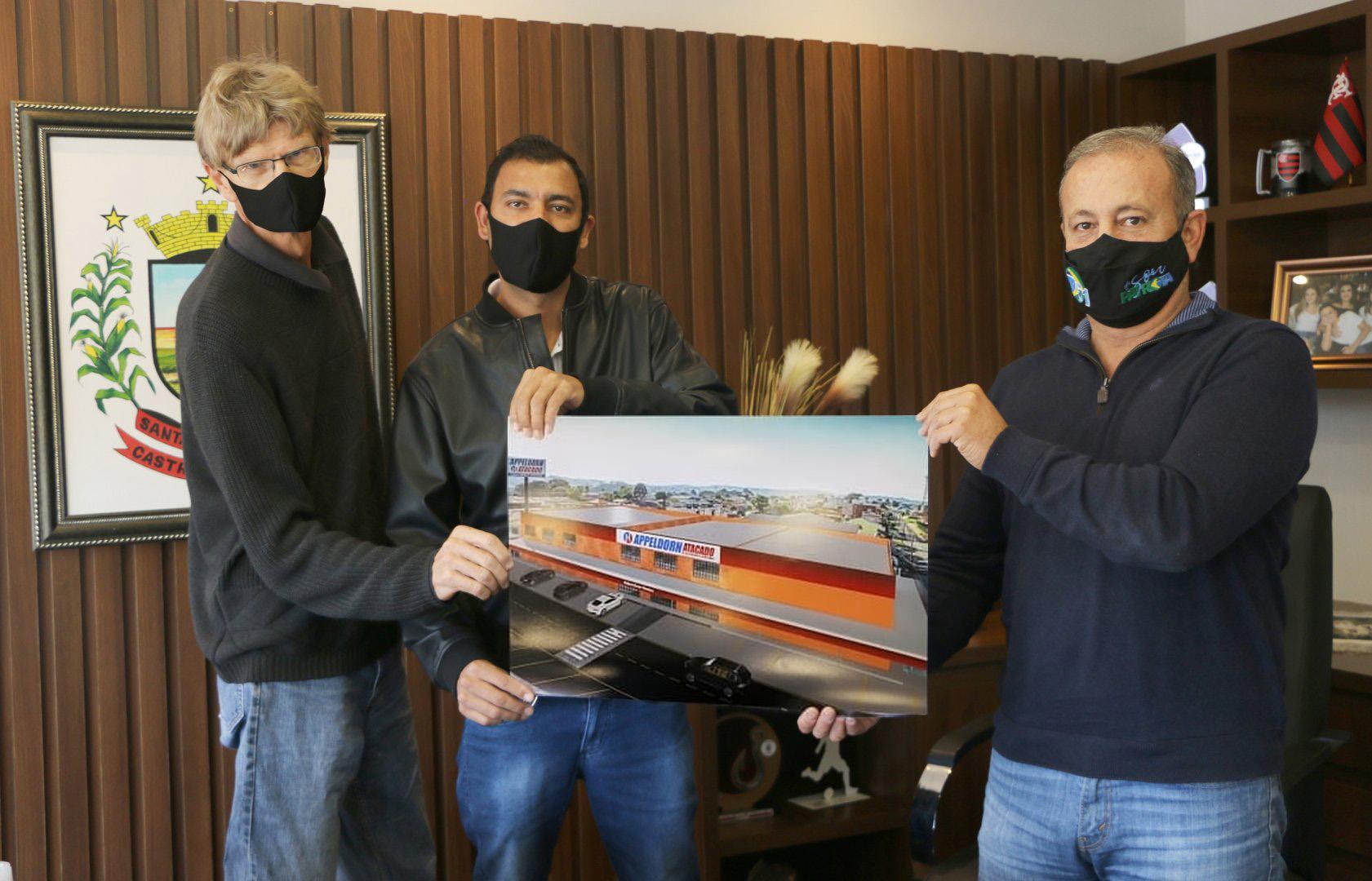 Atacado Appeldorn amplia instalações e gera 260 empregos em Castro