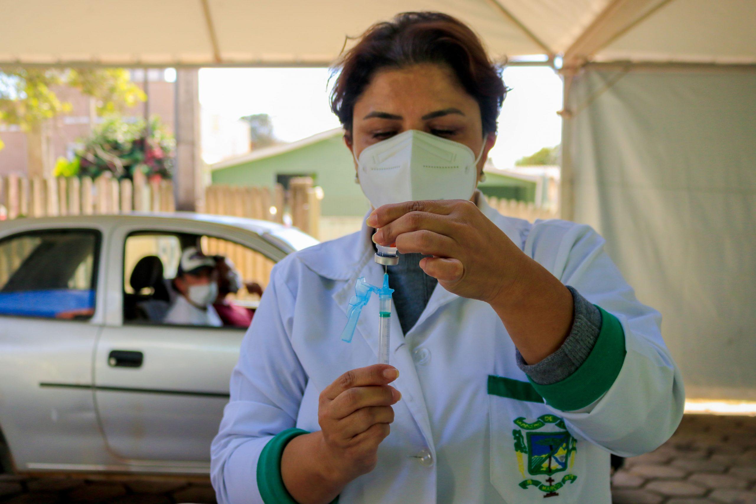 Tibagi recebe mais 880 doses da vacina Astrazeneca/Fiocruz contra a Covid-19