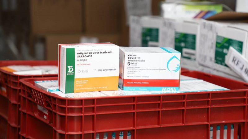 Paraná deve receber mais 413,8 mil vacinas contra a Covid-19