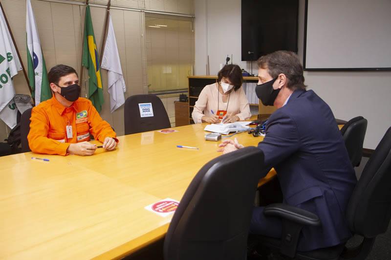 Sanepar e Petrobras assinam convênio que vai levar mais água à Barragem do Passaúna