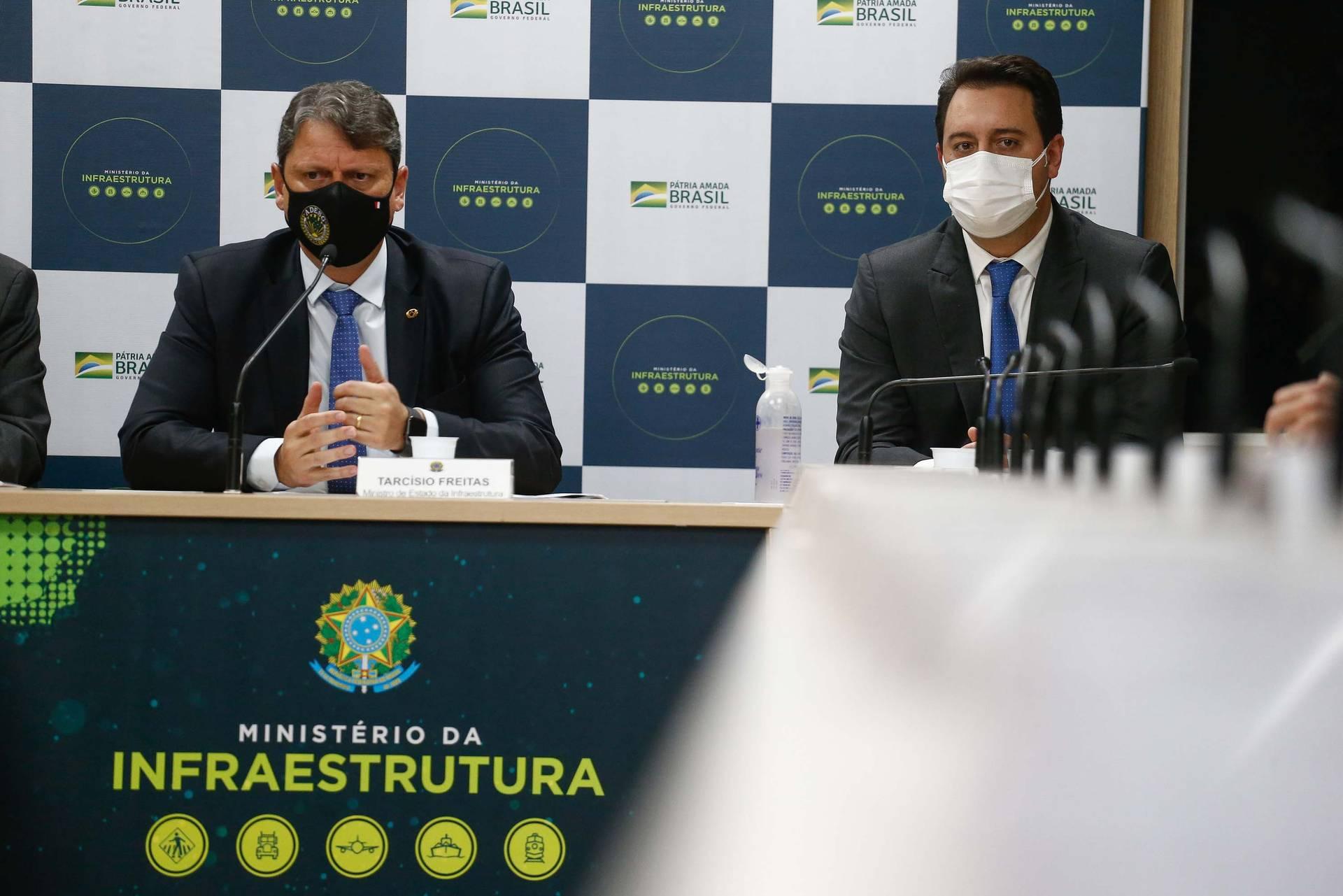 Ratinho Junior defende modelo de pedágio baseado na menor tarifa