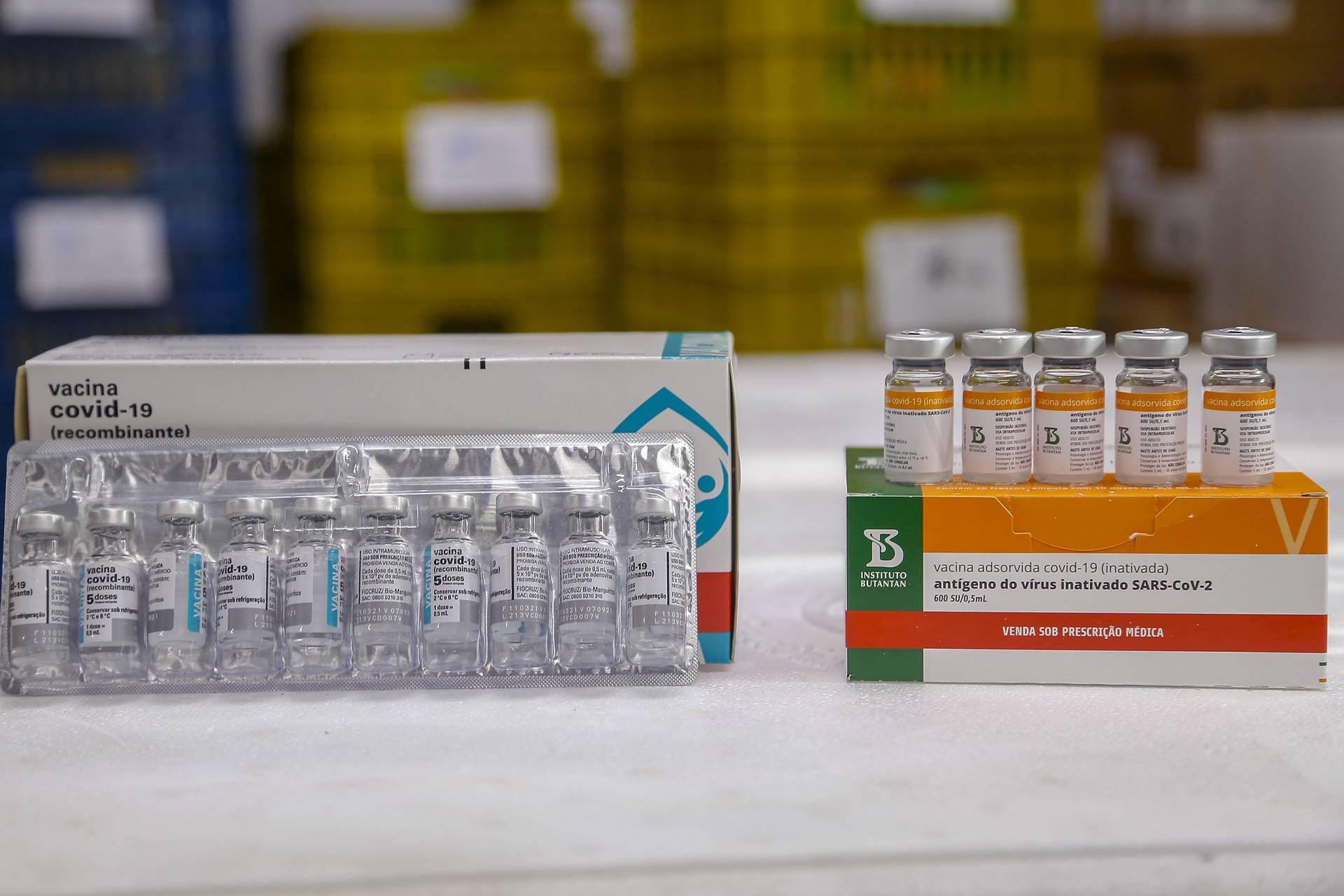 244,8 mil novas vacinas contra Covid-19 chegam ao Paraná nesta quinta