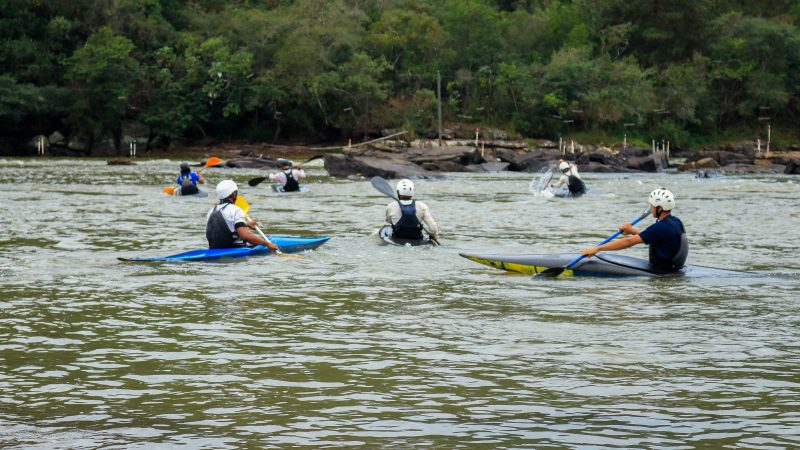Atletas de Tibagi têm Brasileiro de canoagem