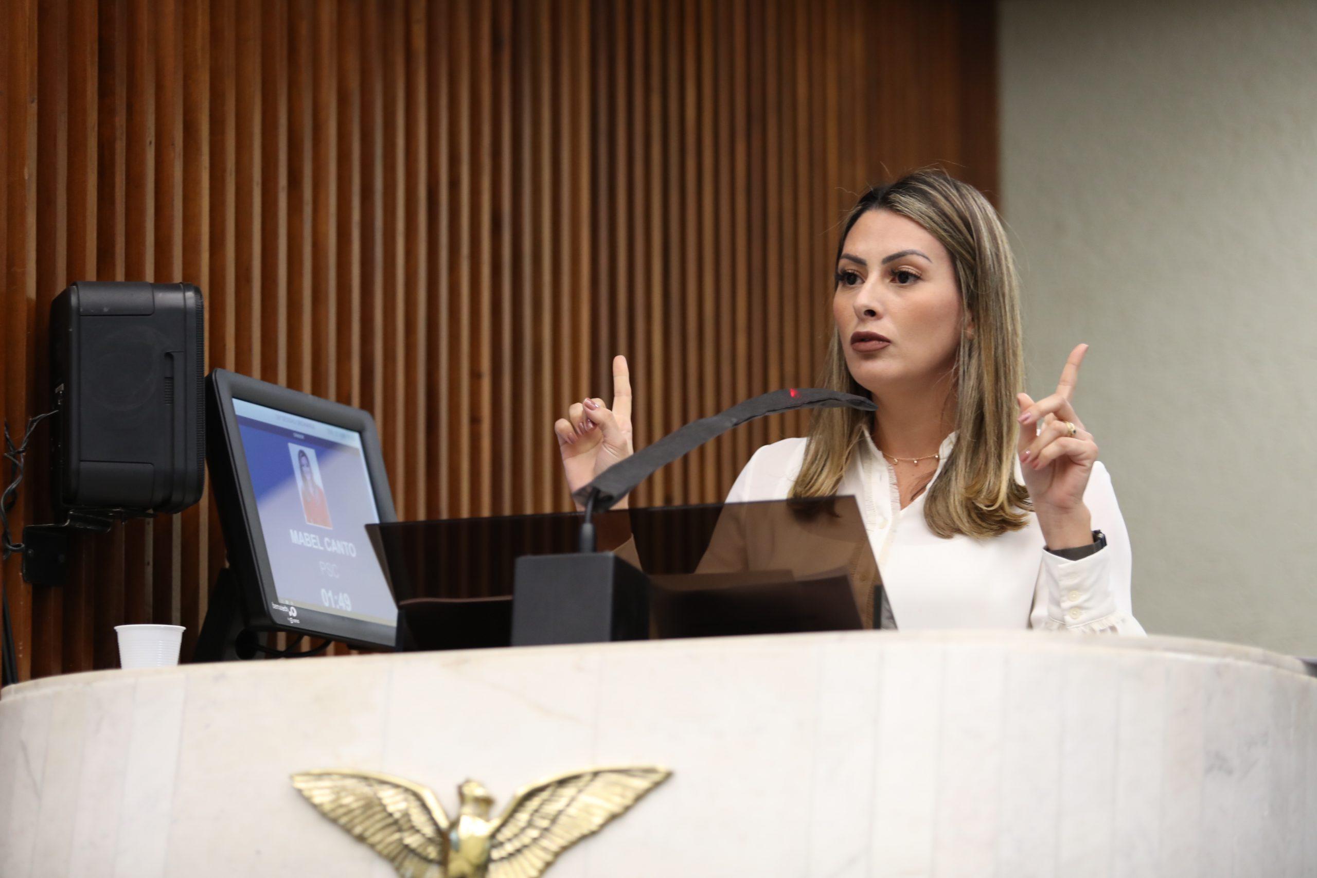 Mabel Canto pede prioridade na imunização contra covid a doadores de sangue