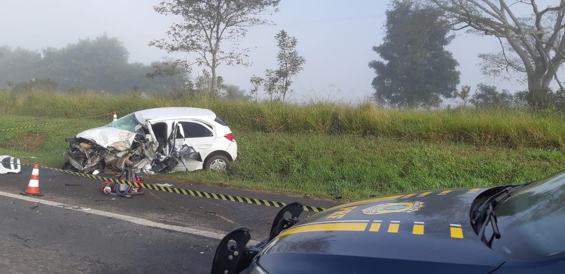 Policial rodoviário morre em grave acidente na BR-373