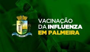 Vacina contra a Influenza já foi aplicada em 3.872 pessoas em Palmeira