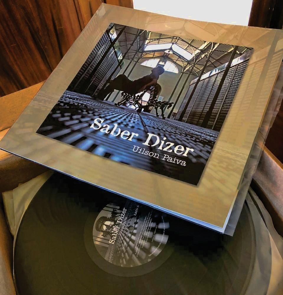 Uilson Paiva lança vinil do disco Saber Dizer