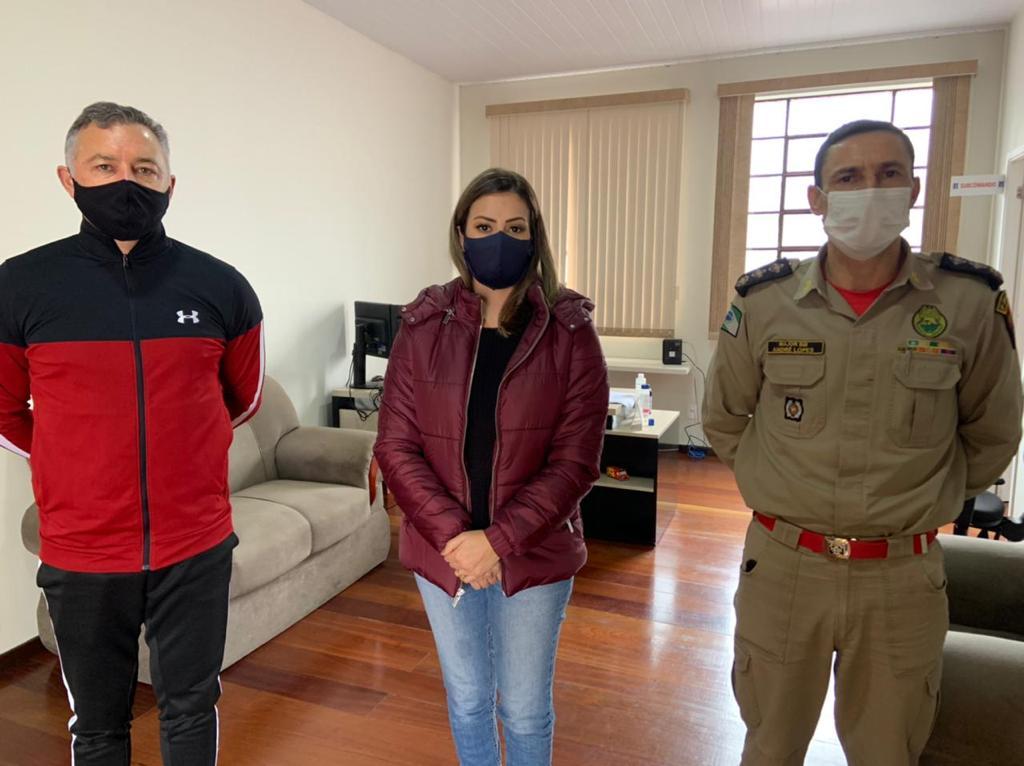 Mabel Canto destina R$ 540 mil ao Corpo de Bombeiros de Ponta Grossa