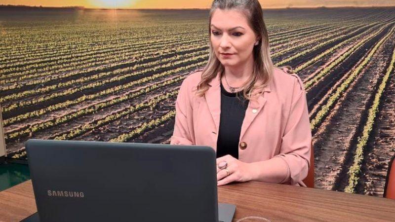 Deputada Aline Sleutjes participa do lançamento da Rede Nacional de Irrigantes