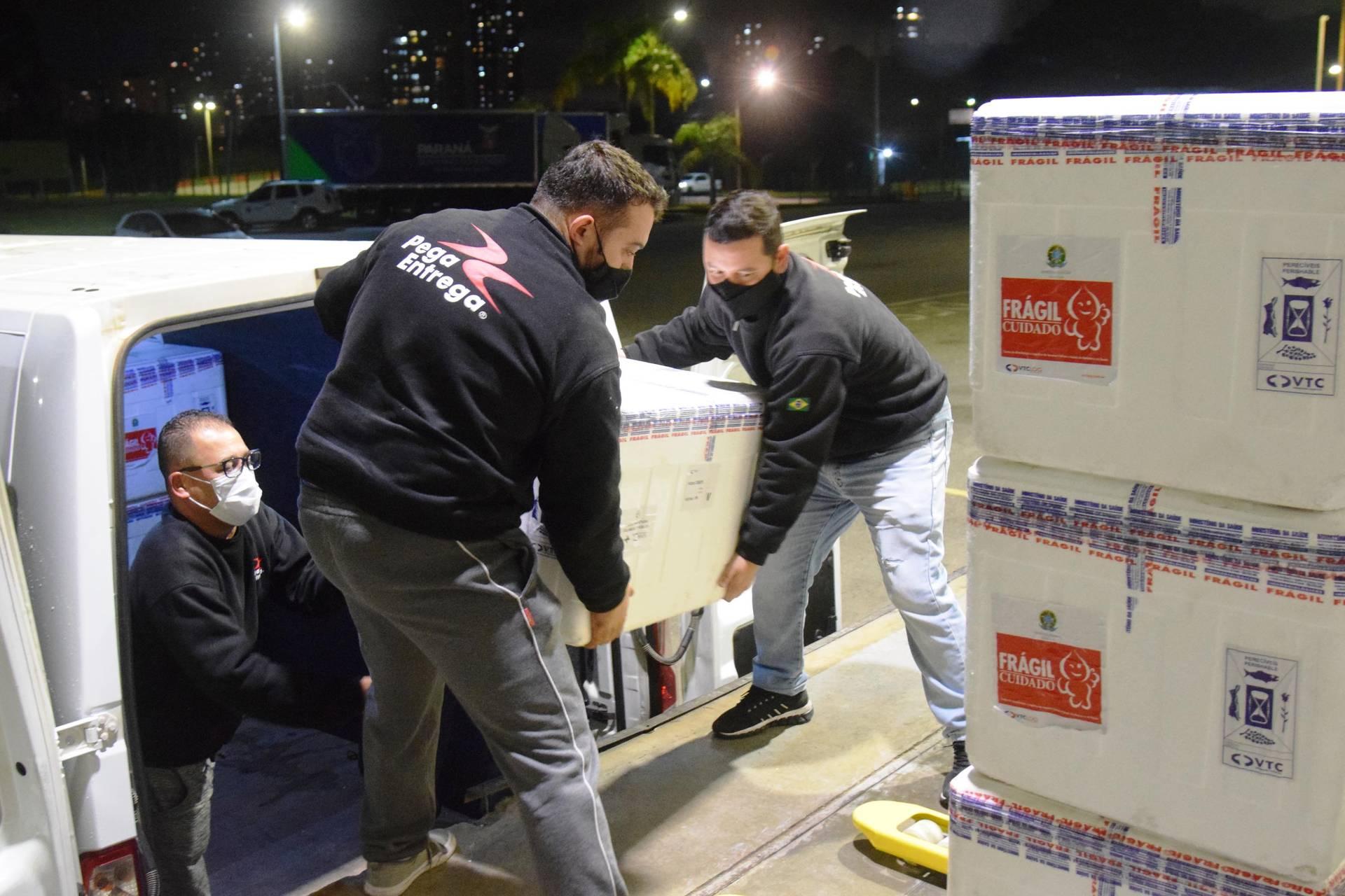 Paraná passa a marca de 6 milhões de vacinas recebidas contra a Covid-19