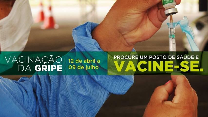 Paraná atinge apenas 33,4% do grupo prioritário na imunização da gripe; veja índices regionais
