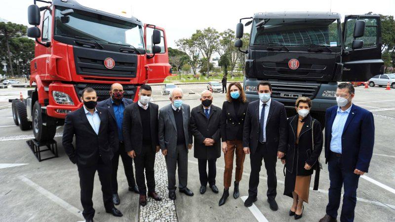 TatraBras apresenta modelos de caminhões que serão fabricados em Ponta Grossa