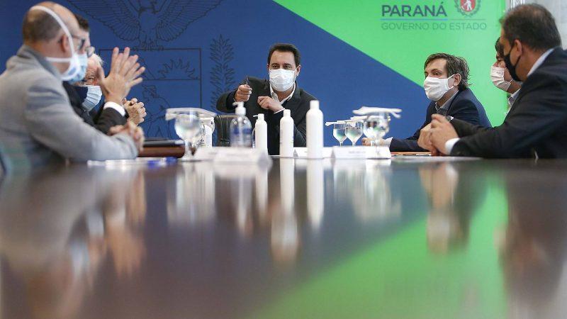 Governador recebe executivos da JBS para discutir continuidade de investimentos no Paraná