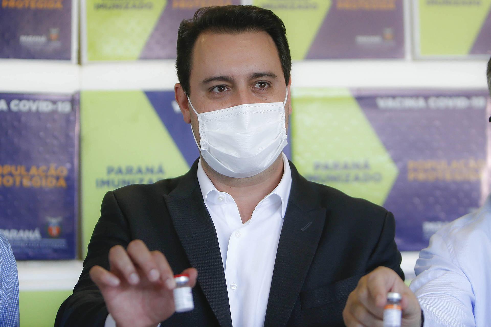 Toda a população adulta do Paraná será vacinada com a 1ª dose contra a Covid-19 até setembro