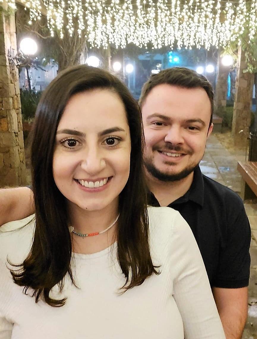 Felipe de Souza e Rafisa Ramos
