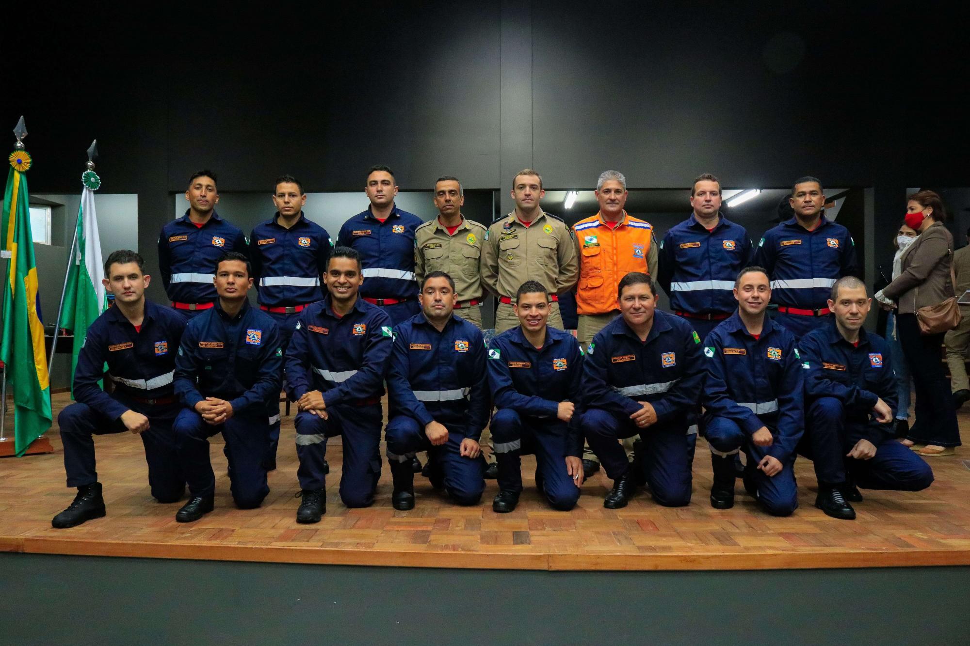 2º GB forma dez agentes da Defesa Civil em Tibagi