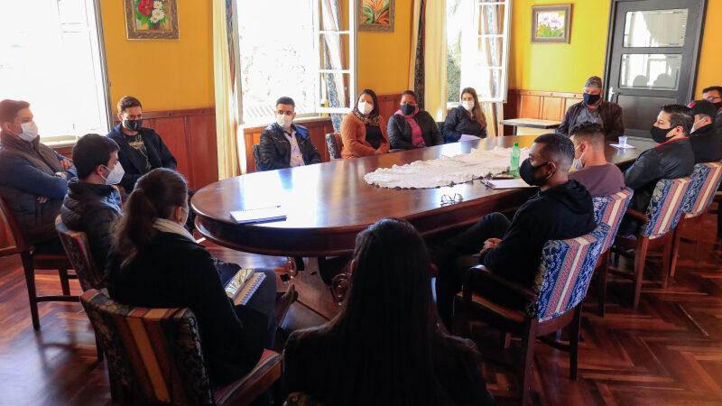 Empresários se reúnem com prefeito de Tibagi