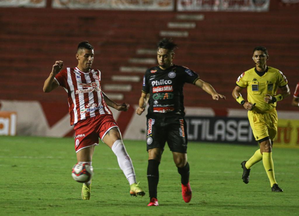 Operário sofre goleada de 5 a 0 do Náutico na Série B