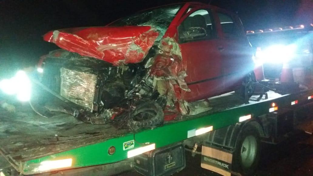 Motorista de Fox tem lesões graves em acidente na BR-277