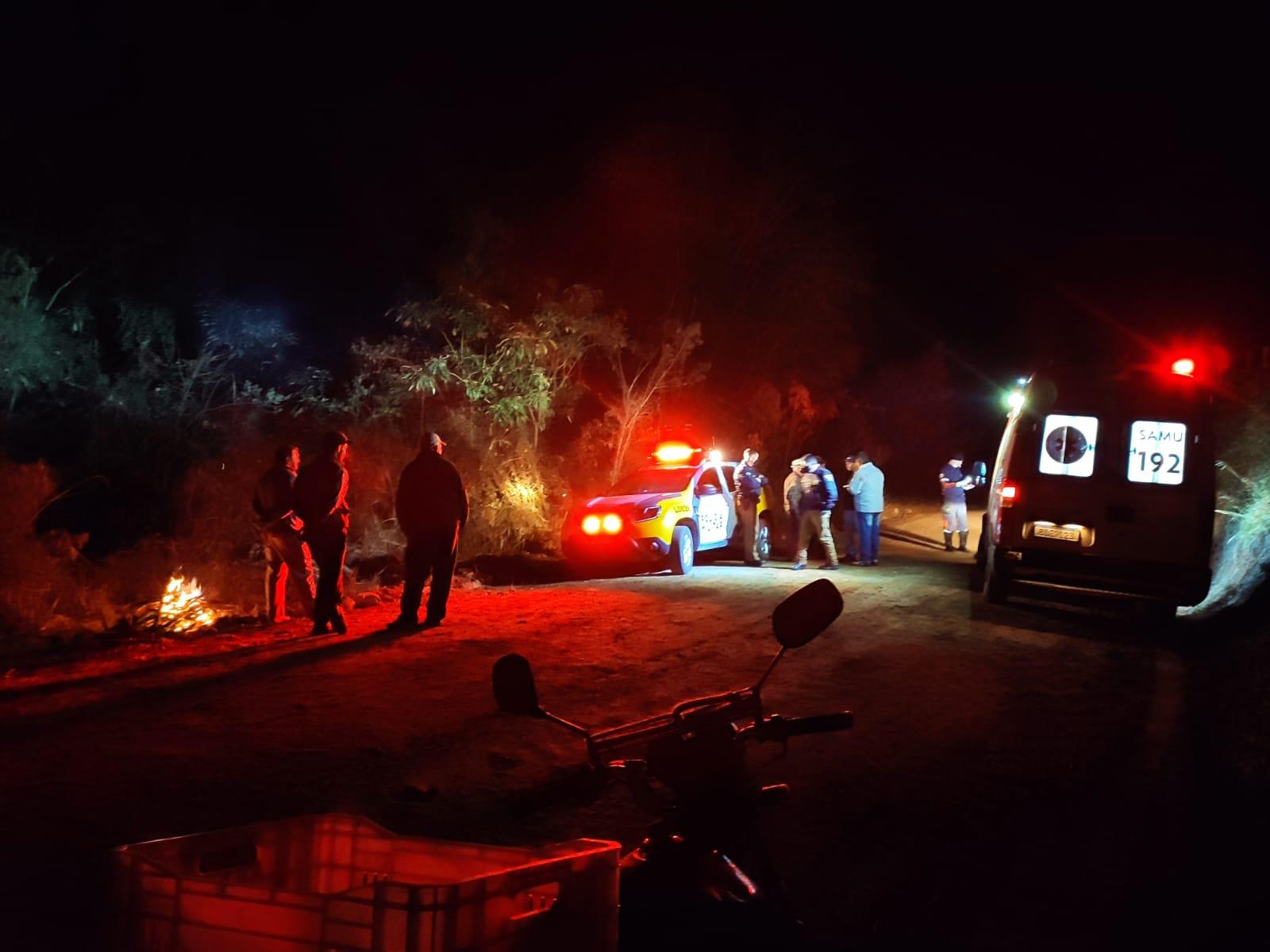 Idoso é encontrado morto em estrada rural de Castro