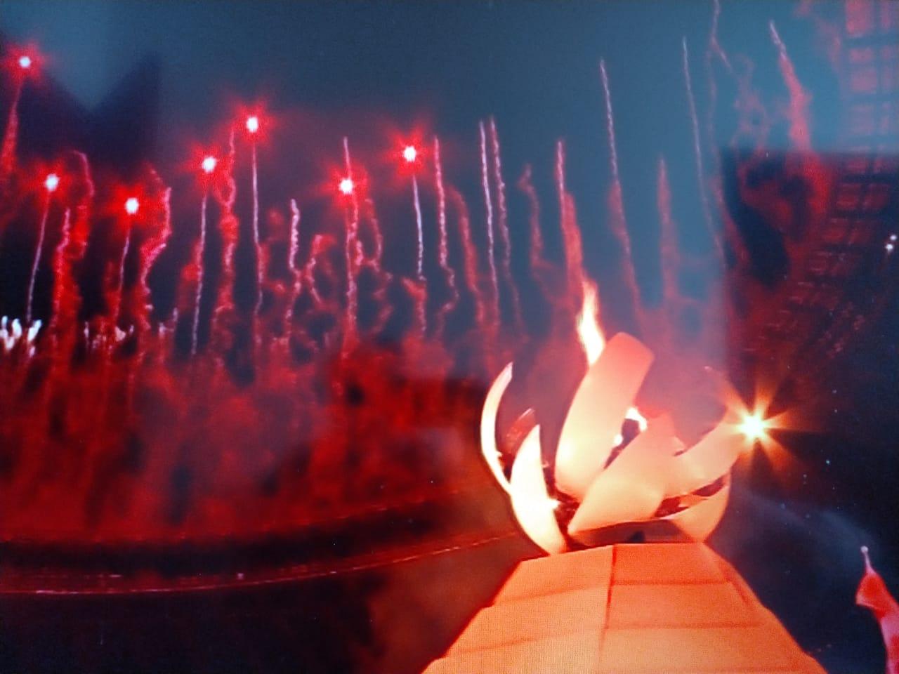 Minimalista e tecnológica, esperava-se mais da abertura das Olimpíadas de Tóquio 2020