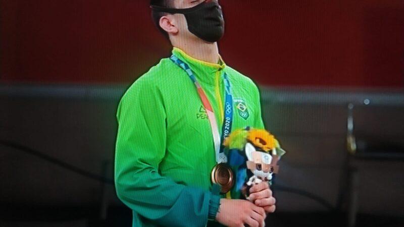 Cargnin conquista em Tóquio o Bronze para o judô brasileiro