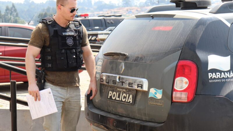 Polícia Civil de Castro prende dois homens por estupro